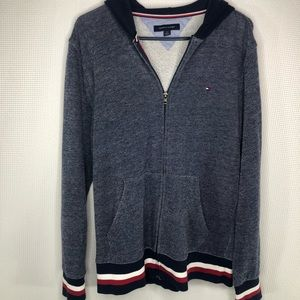 Tommy Hilfiger Hooded Full Zip Front Jacket Men's